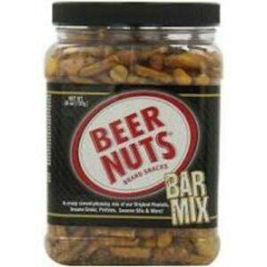 Beer Nuts Jar • Party Mix