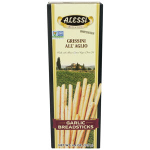 Alessi Garlic Torinesi Thin Breadsticks