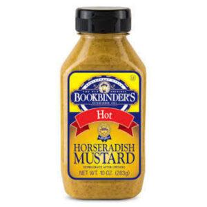 Bookbinder's Horseradish Mustard