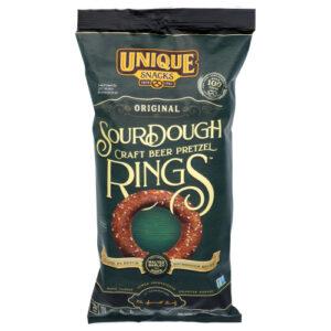 Unique Sourdough Ring Pretzels