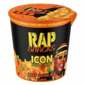 Rap Snacks Noodles • E-40 Beef Prime Rib