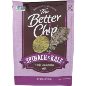 The Better Chip Spinach And Kale Whole Grain Chips