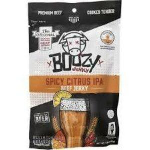 Boozy Spicy Citrus IPA Beef Jerky