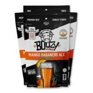 Boozy Infused Mango Habanero Ale Beef Jerky