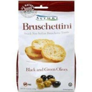 Asturi Bruschettini Black And Green Olive Toast