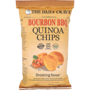 The Daily Crave Bourbon BBQ Quinoa Chips