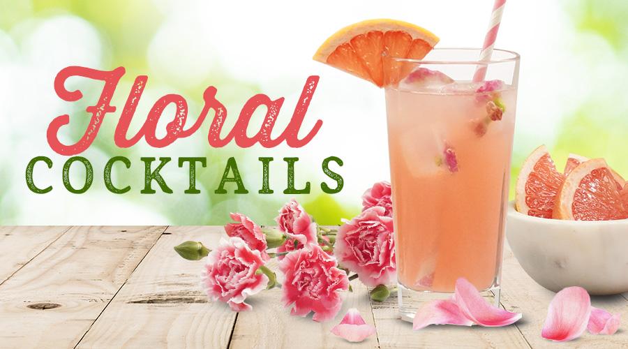 Floral Cocktails - Spec's Wines, Spirits & Finer Foods