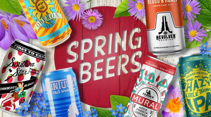 Best Spring Beers - Spec's Wines, Spirits & Finer Foods
