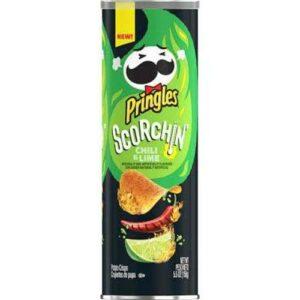 Pringles Scorchin' Hot Chili & Lime Potato Crisps Chips
