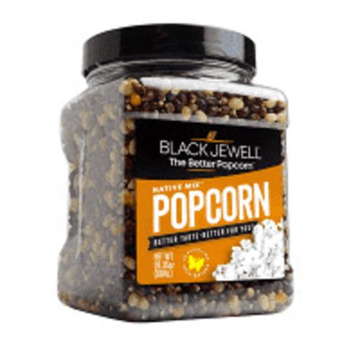 Black Jewell Gourmet Popcorn Kernals Native Mix