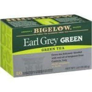 Bigelow Earl Grey Green Caffeinated Tea Bags