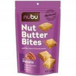 Nubu Nut Butter Pecan Bites Crunchy Snack