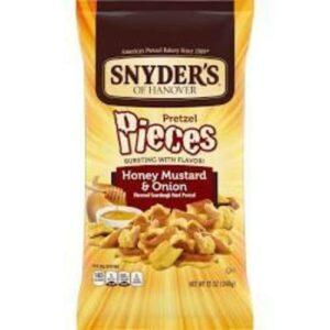 Snyder's Honey Mustard & Onion Pretzels Pieces