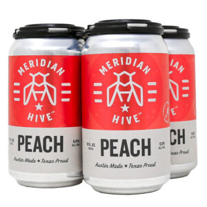 Meridian Hive Peach Ginger Mead • Cans