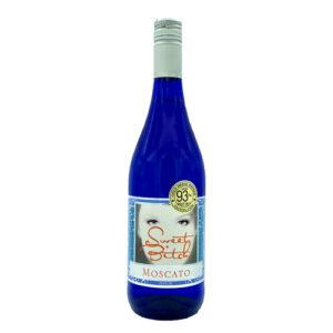 Sweet Bitch Moscato Blue Bottle Screw Cap Italy