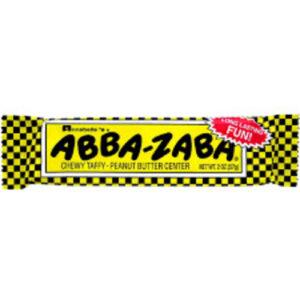 Abba-zaba Chewy Taffy Candy Bar