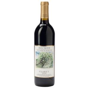 Becker Vineyards Claret Les Trois Dames Bordeaux Blend