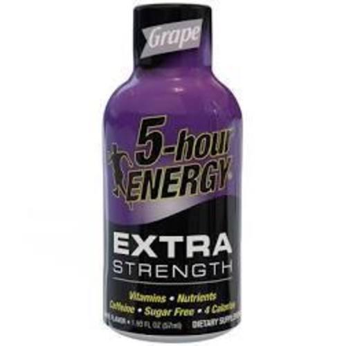 5-hour Extra Strength Grape Energy Shot