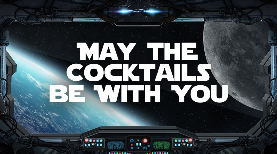 Star Wars Cocktails, They Are