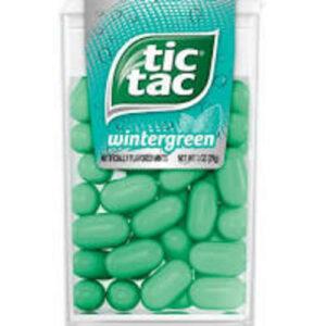 Tic Tac Fresh Breath Wintergreen Hard Candy Mints