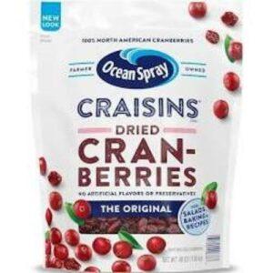 Craisins Ocean Spray Original Dried Cranberries In Pouch