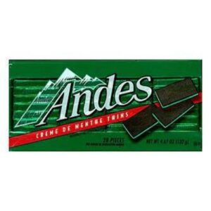 Andes Creme De Menthe Thins In Box