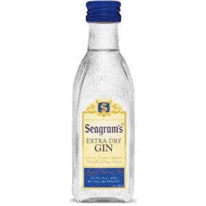 Seagrams Gin • 50ml (Each)