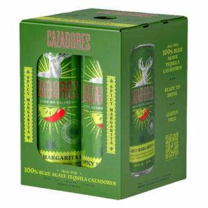 Cazadores Cocktails • Spicy Margarita 4pk-12oz