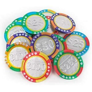Castle Milk Chocolate Candy Casino Chips