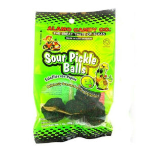 Alamo Sour Pickle Candy Balls