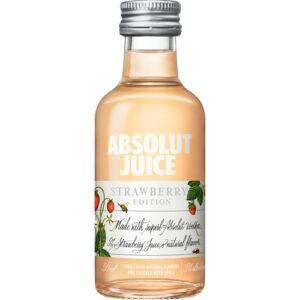 Absolut Juice • Strawberry Vodka 50ml (Each)