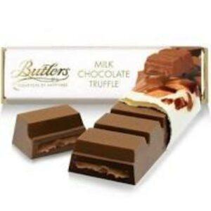 Butlers Milk Chocoalte Truffle Candy Bar
