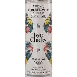 Two Chicks Cocktails • Vodka Fizz 4pk-355ml