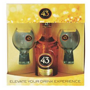 Cuarenta Tres Licor 43 • Gift Set 6 / Case