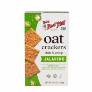 Bob's Red Mill Jalapeno Oat Crackers