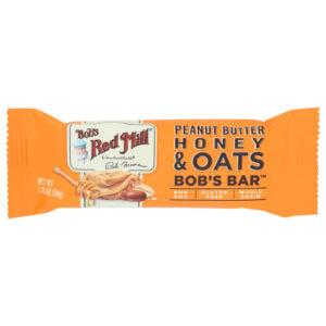 Bobs Red Mill Oat Bar • Peanut Butter Honey