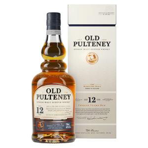 Old Pulteney 12 Year Old Single Malt Scotch Whisky