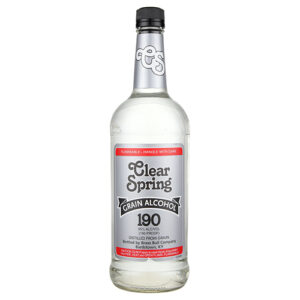 Clear Spring Grain Alcohol 190′