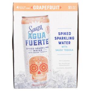 Agua Fuerte Cocktails • Grapefruit Margarita 4pk-355ml