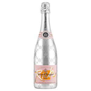 Clicquot Rich Rose Champagne 6 / Case