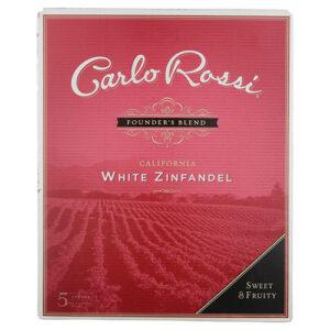 Carlo Rossi White Zinfandel Box