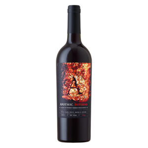 Apothic Inferno Red Blend Whiskey Barrel Aged