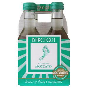 Barefoot Moscato 4pk