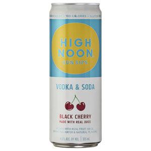 High Noon Sun Sips • Black Cherry 4pk-355ml