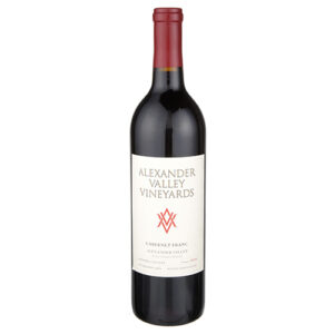 Alexander Valley Vineyards Estate Grown & Bottled Wetzel Family Estate Cabernet Franc