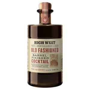 High West Barrel Finished Old Fashioned Cocktail