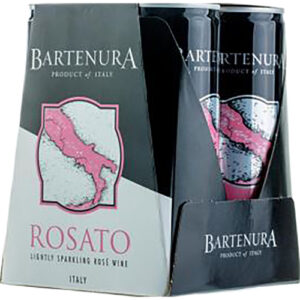 Bartenura Rosato Sparkling Can 4pk