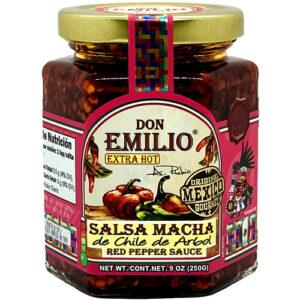 Don Emilio Macha Red Pepper Salsa