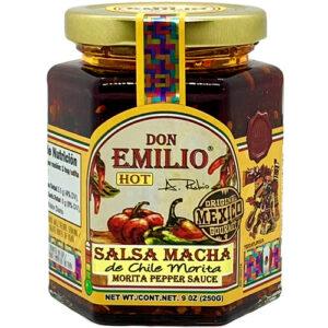 Don Emilio Macha Morita Pepper Salsa