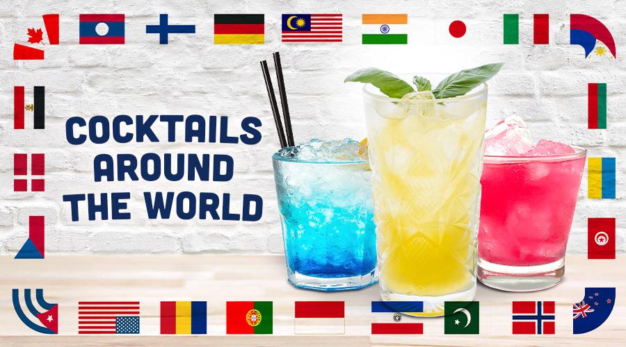 Cocktails Around The World - Spec's Wines, Spirits & Finer Foods